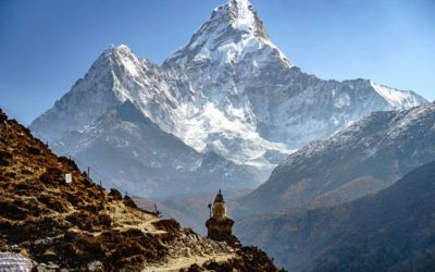 The journey to Dingboche and seeing Ama Dablam up close