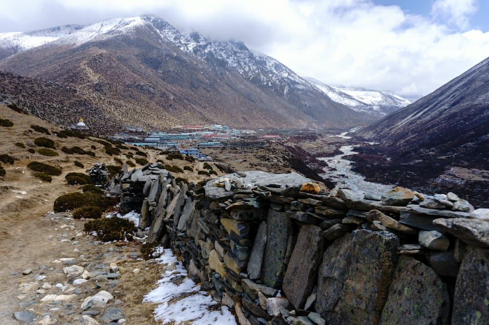 Back to #Dingboche for a rest