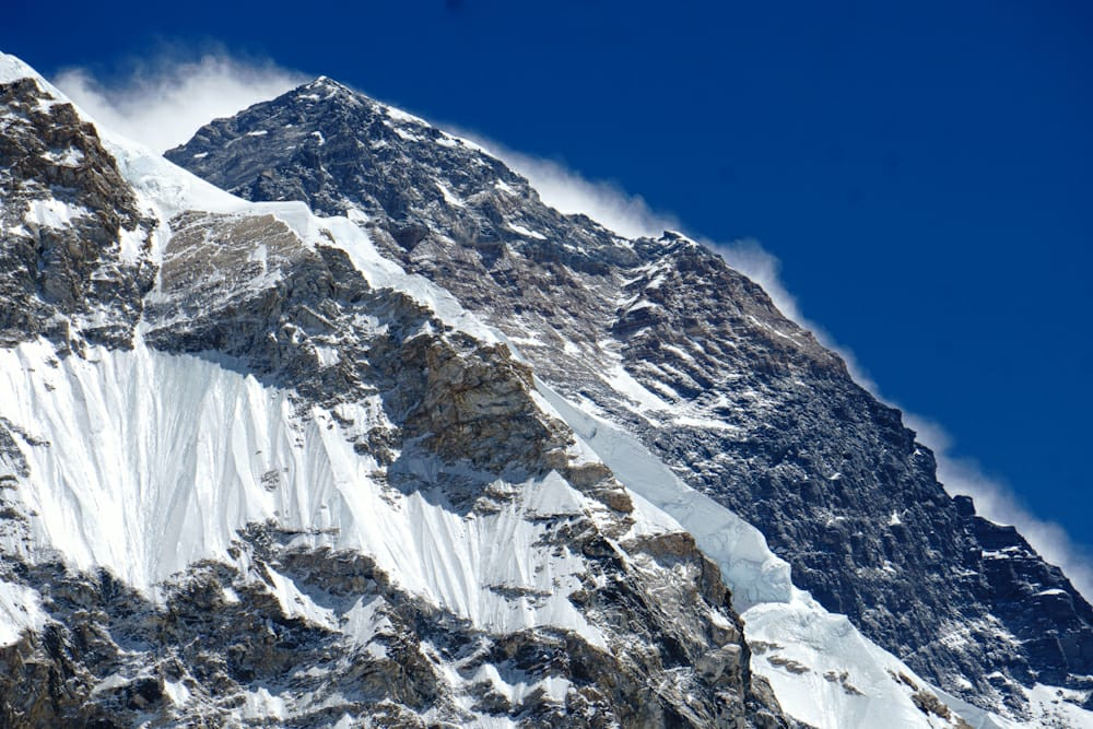 Everest 8,848m. Let's see how far up we get!
